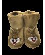 Sevimli Tavşan Unisex çocuk Kreş/Anaokulu Panduf,çocuk ev ayakkabısı (6 ÇİFT)